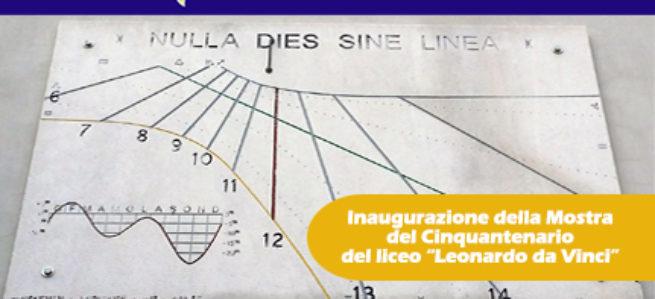 """Inaugurazione della Mostra del Cinquantenario del liceo """"Leonardo da Vinci"""""""