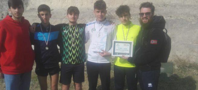 Corsa campestre: primi nella fase regionale, destinazione Gubbio