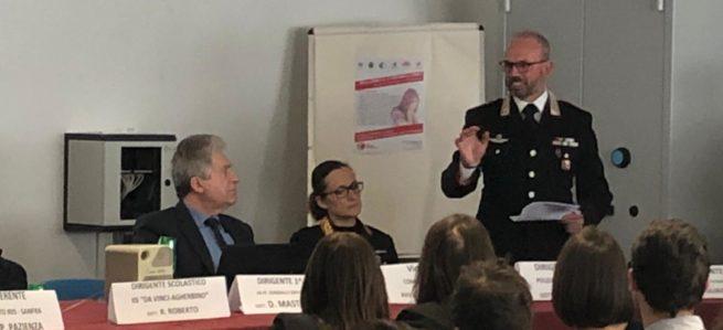 Convegno sul bullismo e cyberbullismopresso l'IPSIA di Putignano