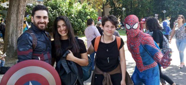 Studenti dell'IPSIA di Putignano alla XXI edizione del Comicon di Napoli