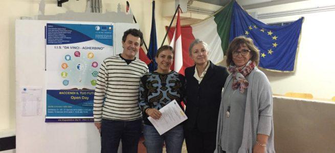 """""""Da Vinci – Agherbino"""" ed ERASMUS +:nuovi stage di studenti spagnoli"""