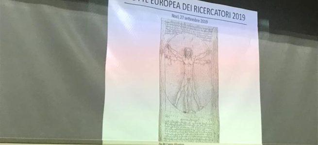 """La bella """"Notte europea dei Ricercatori 2019"""""""