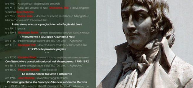 220° della Repubblica napoletana e del martirio di Giuseppe Albanese (1799-2019)